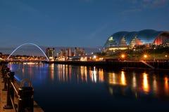 Newcastle sur Tyne Images libres de droits