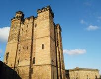 Newcastle sur Tyne, Angleterre, Royaume-Uni L'extérieur du château image libre de droits