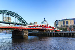 Newcastle Swing Bridge Royalty Free Stock Photography