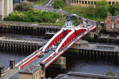 Newcastle Swing Bridge Stock Photos