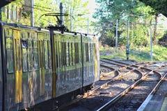Newcastle tunnelbanaoperationer arkivbild
