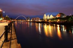 newcastle tyne royaltyfri fotografi