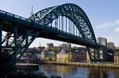 Newcastle and Tyne Bridge Stock Photography