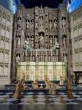 NEWCASTLE UPON TYNE, TYNE AND WEAR/UK - JANUARY 20 : Nativity Sc. Ene in the Cathedral in Newcastle upon Tyne, Tyne and Wear on January 20, 2018 Royalty Free Stock Image
