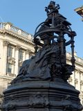 NEWCASTLE UPON TYNE, TYNE AND WEAR/UK - JANUARY 20 : Statue of Q. Ueen Victoria in Newcastle upon Tyne, Tyne and Wear on January 20, 2018 Stock Photography
