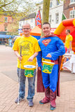 Newcastle Under Lyme, U.K. 5th May 2014 The Lymelight Festival . Royalty Free Stock Photos