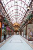 The Central Arcade royalty free stock photography