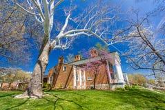 Newcomb Hall in Washington und Lee Lizenzfreie Stockfotos