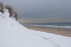 Newcomb wydrążenia plaża, Wellfleet Massachusetts Zdjęcia Royalty Free