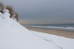 Newcombs ihåliga strand, Wellfleet Massachusetts Royaltyfria Foton