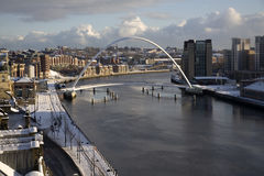 Newcsatle Quayside stock photography