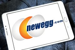 Newegg商标 免版税库存图片