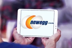 Newegg商标 库存图片