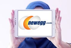 Newegg商标 免版税库存照片