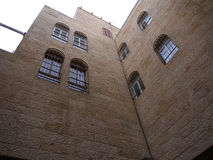Newer construction in jewish quarter Jerusalem Stock Photo