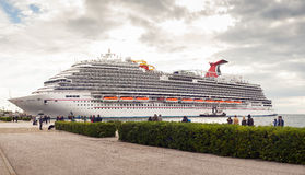 The newest carnival cruise ship Stock Image