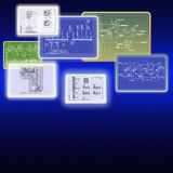 The newest engineering technologies. Allow to realise modern design decisions Royalty Free Stock Images