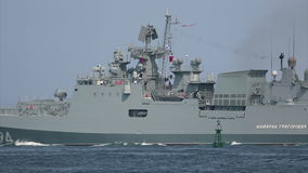 Newest frigate armed with caliber missile
