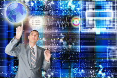 The newest Internet technologies Stock Photo