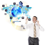 The newest Internet technologies Stock Image