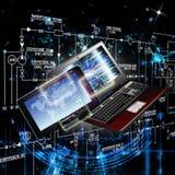 The newest Internet technologies Stock Photos
