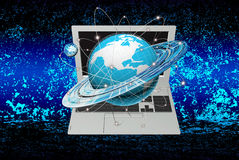 The newest Internet technology Royalty Free Stock Photo