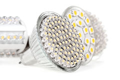 Newest LED light bulb Stock Images