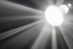Newest LED light bulb Royalty Free Stock Photo