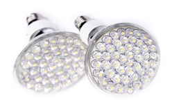 Newest LED light bulb Royalty Free Stock Images