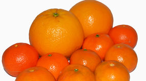 The newest oranges and tangerines 2017 Stock Photography