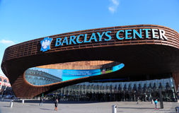 Newest sport arena Barclays center in Brooklyn, New York. Stock Photos