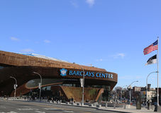 Newest sport arena Barclays center in Brooklyn, New York. Stock Photo