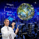 The newest technologies. The newest ecological technologies Earth Stock Images