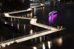 Newfarm Riverwalk in Brisbane Royalty Free Stock Photo