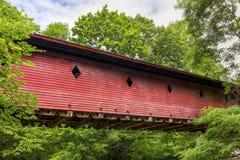 Newfield Covered Bridge Stock Photos