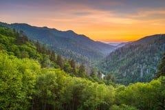Newfound Gap Smoky Mountains royalty free stock image