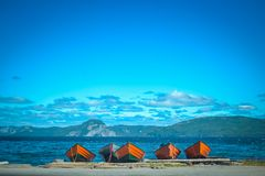 NEWFOUNDLAND / CANADA - AUGUST 2014: SUMMER AT NEWFOUNDLAND Royalty Free Stock Images