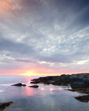 Newfoundland Coast Sunrise Royalty Free Stock Photo