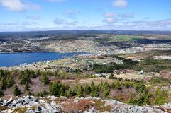 Newfoundland coastline Royalty Free Stock Photo