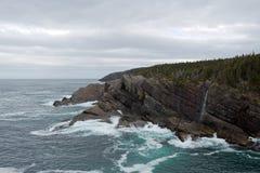 Newfoundland Coastline Stock Images
