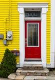 Newfoundland Doorways Stock Photography