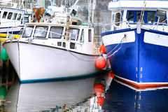 Newfoundland Fishing Boats Royalty Free Stock Photos