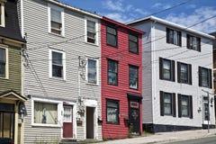 Newfoundland Houses Stock Photography