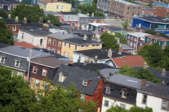 Newfoundland Houses Royalty Free Stock Image