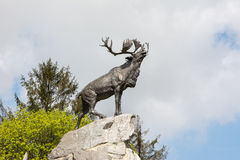 Newfoundland krigminnesmärke Frankrike Arkivfoto