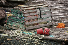 Newfoundland Lobster Trap Royalty Free Stock Image