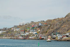 Newfoundland shoreline Royalty Free Stock Photo