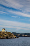 Newfoundland Shoreline. Rugged shoreline in Trinity Bay, Newfoundland, Canada royalty free stock photo