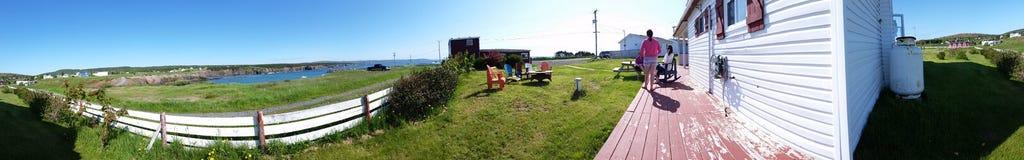 Newfoundland summer panoramic Stock Photos