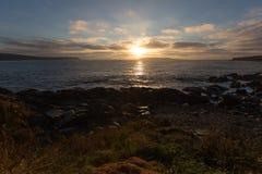 Newfoundland Sunrise Stock Images